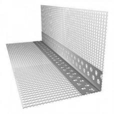 Угол пластиковый со стеклосеткой 10х10 (2,5 м)/шт