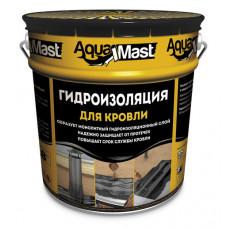 Мастика битумно-резиновая AquaMast/ расход 3,3-4,3 кг/м2/ (18кг)