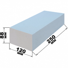 Кирпич силикатный рядовой полуторный