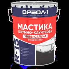 Мастика битумно-каучуковая «Универсальная» ведро 25кг