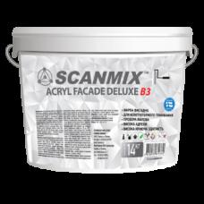 Акриловая фасадная краска для тонирования Scanmix ACRYL FACADE DELUXE B3 10л/14кг