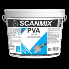Клей ПВА на водной основе Scanmix PVA 10кг