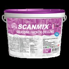 Силиконовая фасадная краска Scanmix SILICONE FACADE DELUXE 10л/14кг
