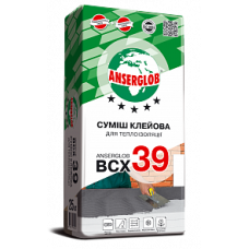 Клей для приклейки ваты и пенопласта ANSERGLOB BCХ 39 (25кг)